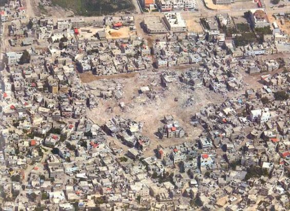 Jenin destruction