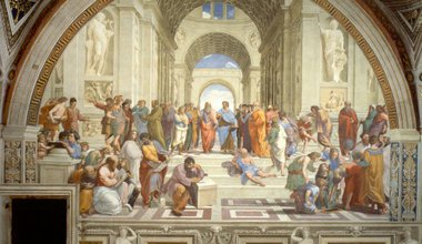 'The School of Athens'. Wikimedia Commons