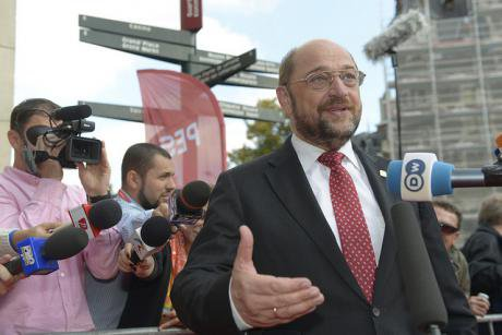 Martin Schulz, President of the European Parliament.