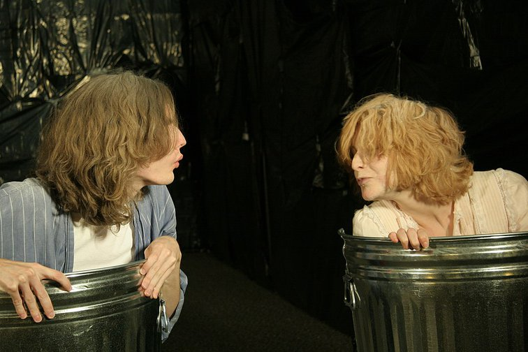 Nagg and Nell in Endgame by Samuel Beckett, Shimer College, Chicago, 2009.