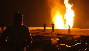 The gas pipeline explosion in Sinai