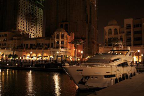 Luxury yachts, The Pearl, Doha. Demotix/Tom Morgan. All rights reserved.
