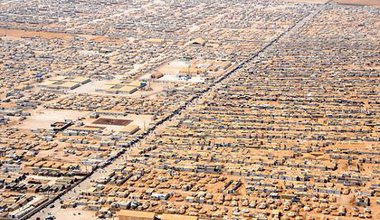 Za'atri refugee camp, Syria