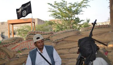 Face to face with Al Qaeda militants in Yemen.