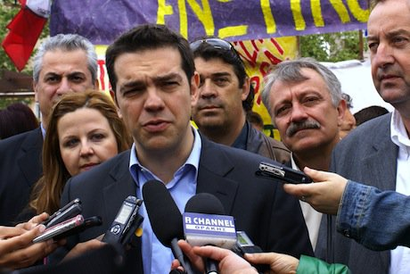 Tsipras. Demotix/Orhan Tsolak. All rights reserved.