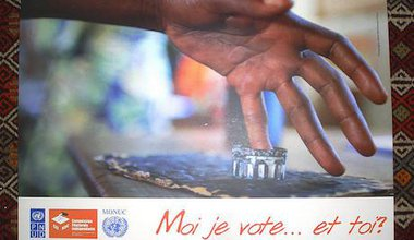 Election poster, DRC