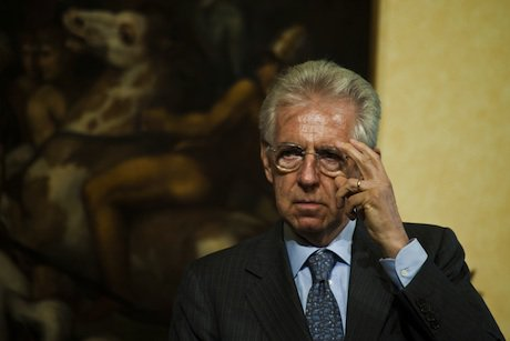 Italian PM Mario Monti. Demotix/Alessandro Serranò. All rights reserved.