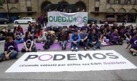 Podemos in European elections
