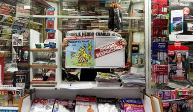 Charlie Hebdo's 2 versions.