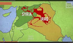 On both sides of the border between Syria and Iraq there are now 35.000 Squaremiles 'Islamic State'