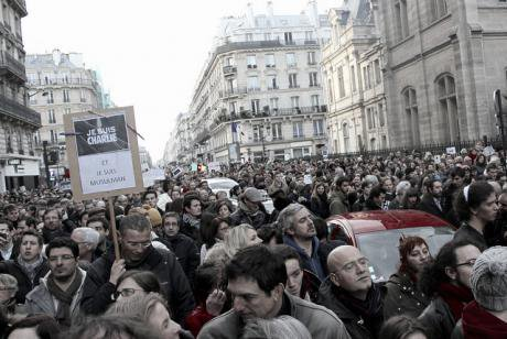 Republican March - Paris, January 11.