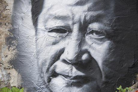 Xi Jinping graffiti. Flickr/Thierry Ehrmann. All rights reserved.