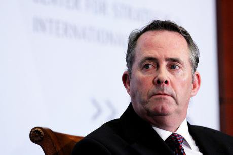 Former Defence Secretary Liam Fox.