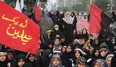 A 2012 protest against Shiite genocide in Karachi. Demotix/ppiimages. All rights reserved.