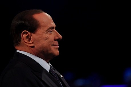 Former Italian PM and current candidate Silvio Berlusconi. Demotix/Giacomo Quilici. All rights reserved.