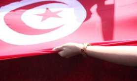 Celebrating Revolution Day in Tunisia.