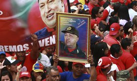 Chavez Supporters