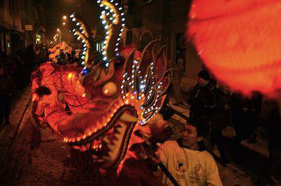 Chinese New Year in Ukraine
