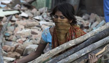 Forced evictions of Delhi's Dalit community, 2012. Demotix/Andy Ash. All rights reserved.