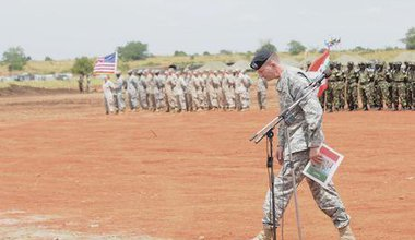 US command in Uganda. Demotix/Edward Echwalu. All rights reserved.