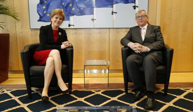Sturgeon and Juncker