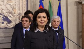 Laura Boldrini, President of the Italian Chamber of Deputies. Demotix/Simona Granati. All rights reserved.