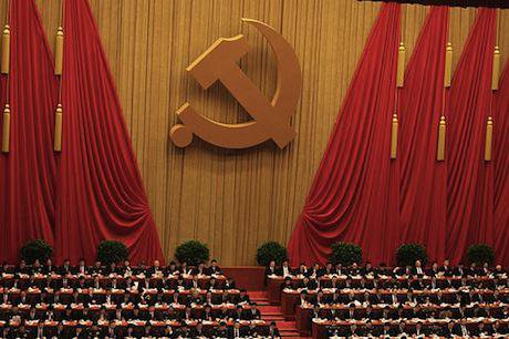 Eighteenth National Congress of the Communist Party of China. Wikimedia Commons. Some rights reserved.