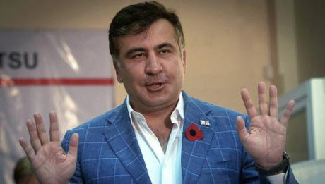 Under President Mikheil Saakashvili, Georgia's political orientation shifted West. (c) RIA Novosti/Alexei Kudenko.