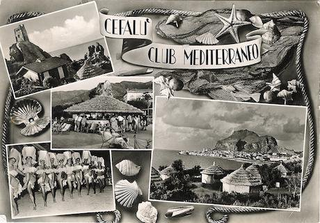 Club Med postcard, 1961. Arroser/Wikimedia Commons. Some rights reserved.