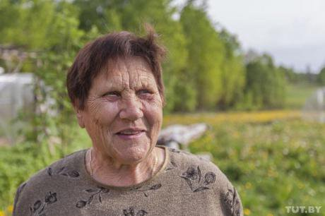 Lyudmila, 80, has seen many neighbours succumb to alcoholism.