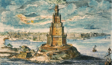 Pharos of Alexandria. Wikicommons.