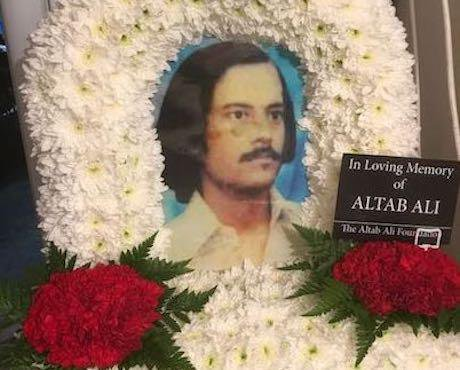 In loving memory of Altab Ali