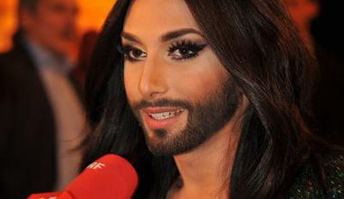 Conchita Wurst at Dancing Stars, Austria. Wikimedia/Ailura. Creative Commons.