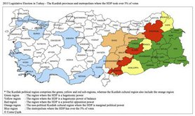 2015 Legislative Elections in Turkey.