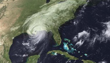 Hurricane Katrina 2005. Flickr/NASA. Some rights reserved.