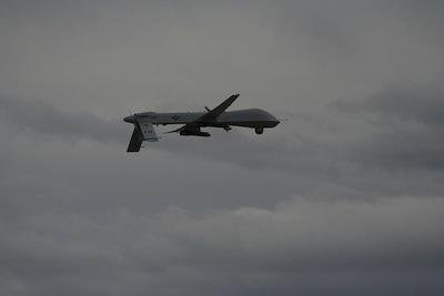 Predator drone. David Smith/Flickr. Some rights reserved.