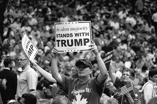 """the silent majority stands with trump"""