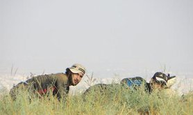Free Syrian Army fighters south of Syria near the Jordan border. Demotix/Majid Almustafa. All rights reserved.