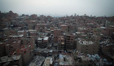 A view of Cairo's Mokattam area