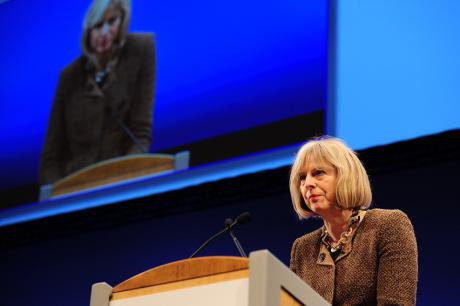 British Home Secretary, Theresa May (Ken Jack/Demotix)