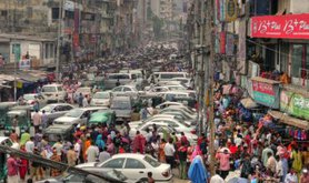 Pollution and congestion are two costly consequences of economic growth. Image by joiseyshowaa/Flickr