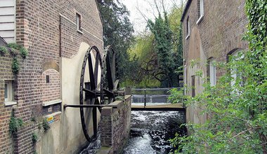Snuff Mill, Morden Hall Park, Merton, London.