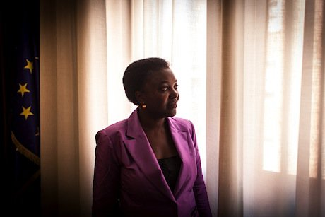 Cécile Kyenge. Demotix/Marcello Fauci. All rights reserved.