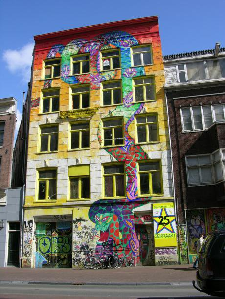 Squat in Amsterdam