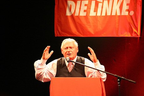 Oskar Lafontaine in 2008. Flickr/Roland Moriz. All rights reserved.