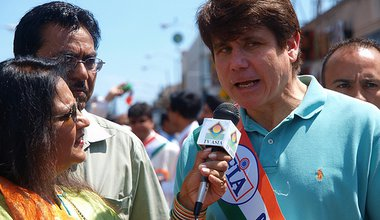 Chicago India Independence Day Parade 2008: Illinois Governor Rob Blagojevich