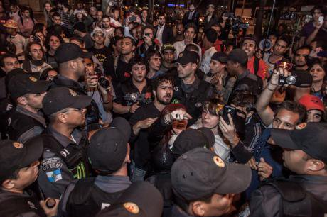 Protesters target opening night of the Rio de Janeiro Film Festival