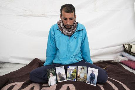 Ziad Muhammad, 33 from Deiv Azzour who was tortured by the Assad regime (Demotix/Matthew Aslett)