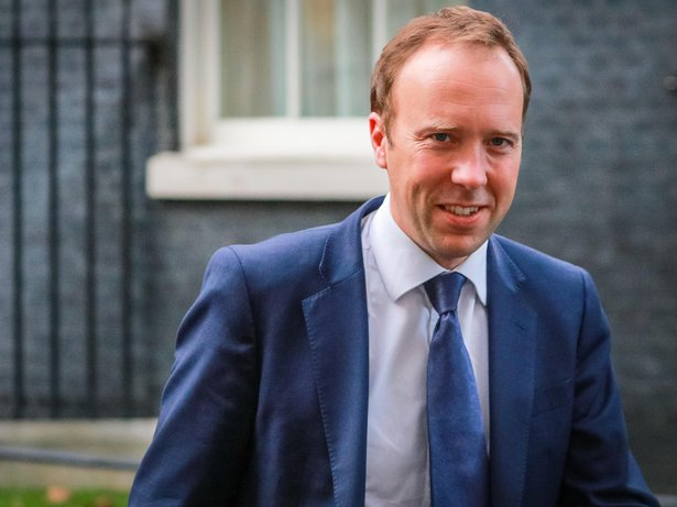 Matt Hancock, Secretary of State for Health and Social Care. Ministers leave a Political Cabinet Meeting at Downing Street this evening. Downing Street, Westminster, London, UK, 26th Sep 2019