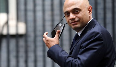 London, England, UK. 9th July, 2021. UK Secretary of State for Health and Social Care SAJID JAVID is seen outside 10 Downing Street.